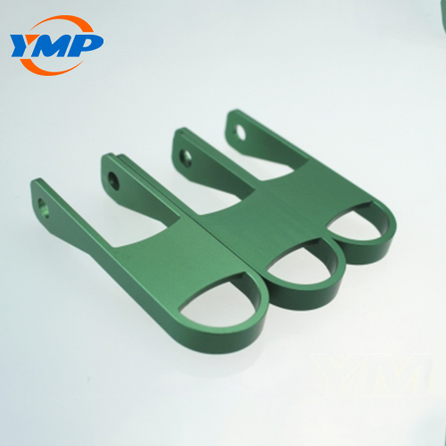 High Precision Green Anodized Aluminum CNC Milling Parts