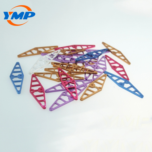 China Certificate Custom Colorful Anodized Aluminum Milling Parts
