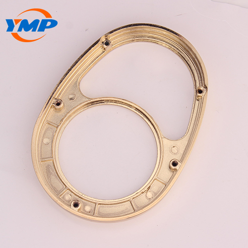 Precision Die Casting Zinc Alloy Parts with Gold Plating